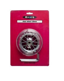 Micro Wheel clear 120mm