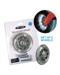 Micro LED Wheel Mini Micro 120mm Set