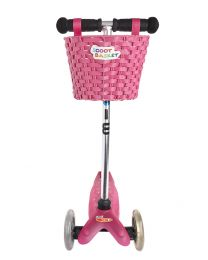 Micro Scoot basket Pink