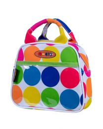 Mini Micro Handbag Neon Dots