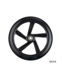 Micro Wheel black 200mm Cruiser