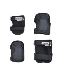 Micro Knee-/ Elbow Pad L Black - set