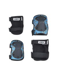 Micro Knee-/ Elbow Pad M Blue - set