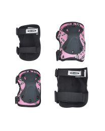Micro Knee-/ Elbow Pad M Pink - set