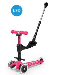 Mini Micro 3in1 Deluxe Plus LED Pink