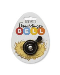 Thumbdinger Bell Blackitty Black on cardboard