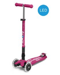 Maxi Micro Deluxe Berry Red Foldable LED