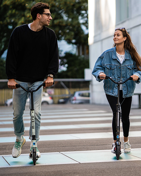 Adult and Urban scooters from Micro Mobility