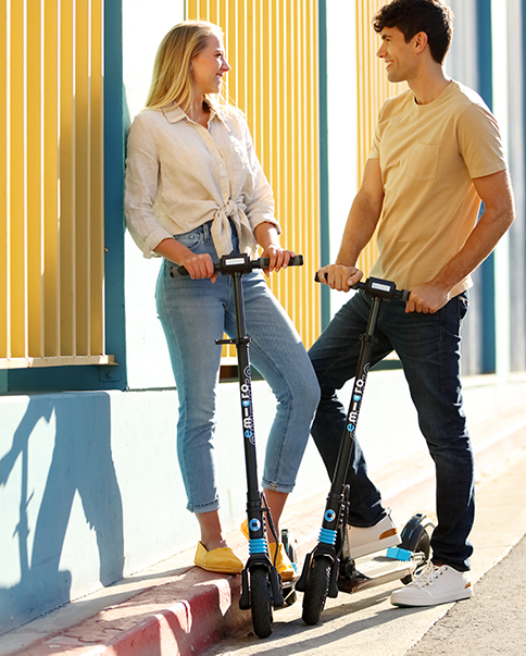 Micro electric scooter range